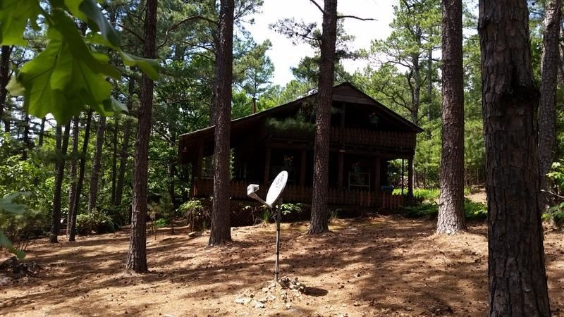 Active | Cabin In The Woods Talihina, OK 74571 1