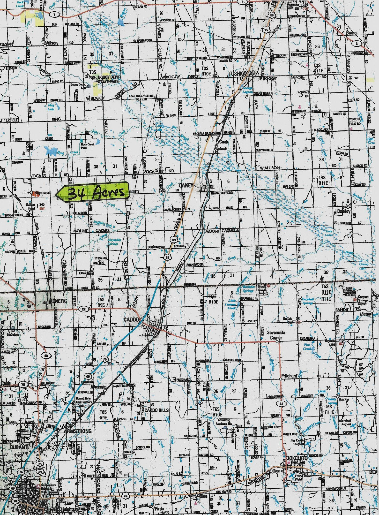 Active | Hopewell Rd Coleman, OK  5