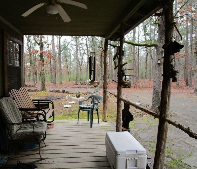 Sold Property | Bulldog Flats Cabin On 10 Acres In Kiamichi Wilderness Moyers, OK 74523 9