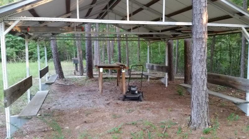 Pending | Cabin On 10 Acres Hodgen, OK 74939 3