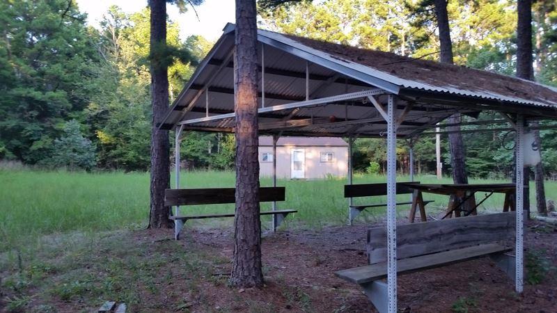 Pending | Cabin On 10 Acres Hodgen, OK 74939 4