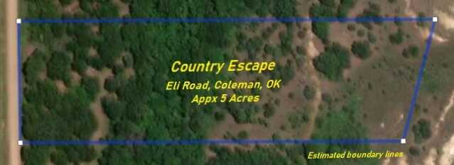 Land for Sale Coleman, OK | 9250 S Eli Road Coleman, OK 73432 10