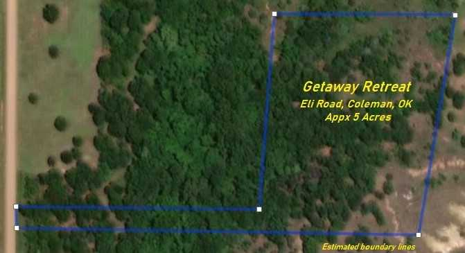 Land for sale in Coleman, OK | 9200 S Eli Road Coleman, OK 73432 6