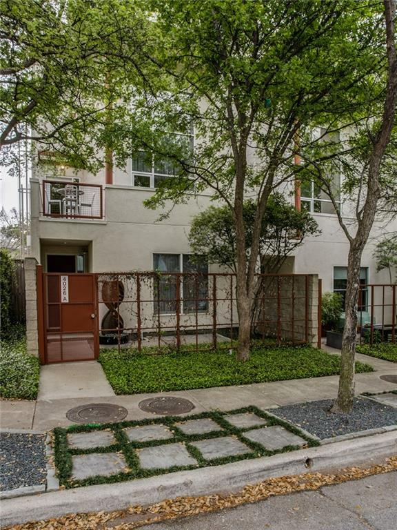 Sold Property | 4026 Travis Street #A Dallas, Texas 75204 1
