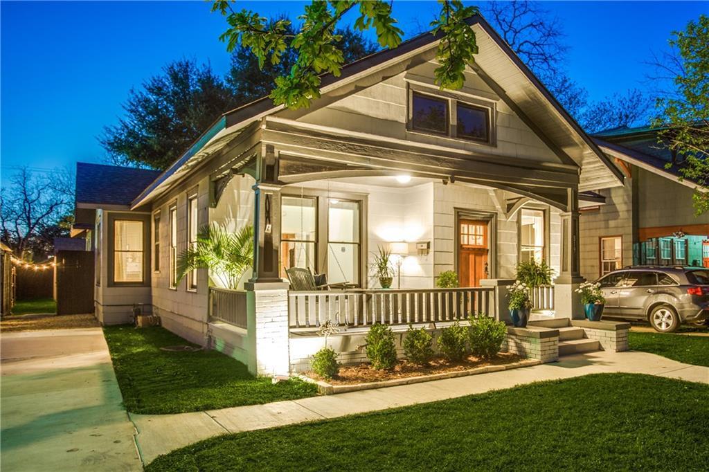 Sold Property | 819 Woodlawn Avenue Dallas, Texas 75208 1