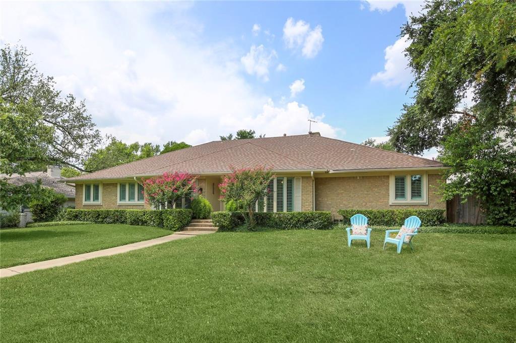 Dallas Real Estate | 7629 Tanglecrest Drive Dallas, Texas 75254 7