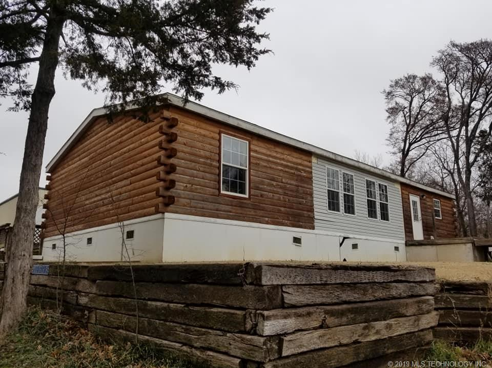 Big Cabin, lake, ramp, boat, fish, log, cabin, shop, acres, car, | 441375 Sunset Drive Big Cabin, OK 74332 20
