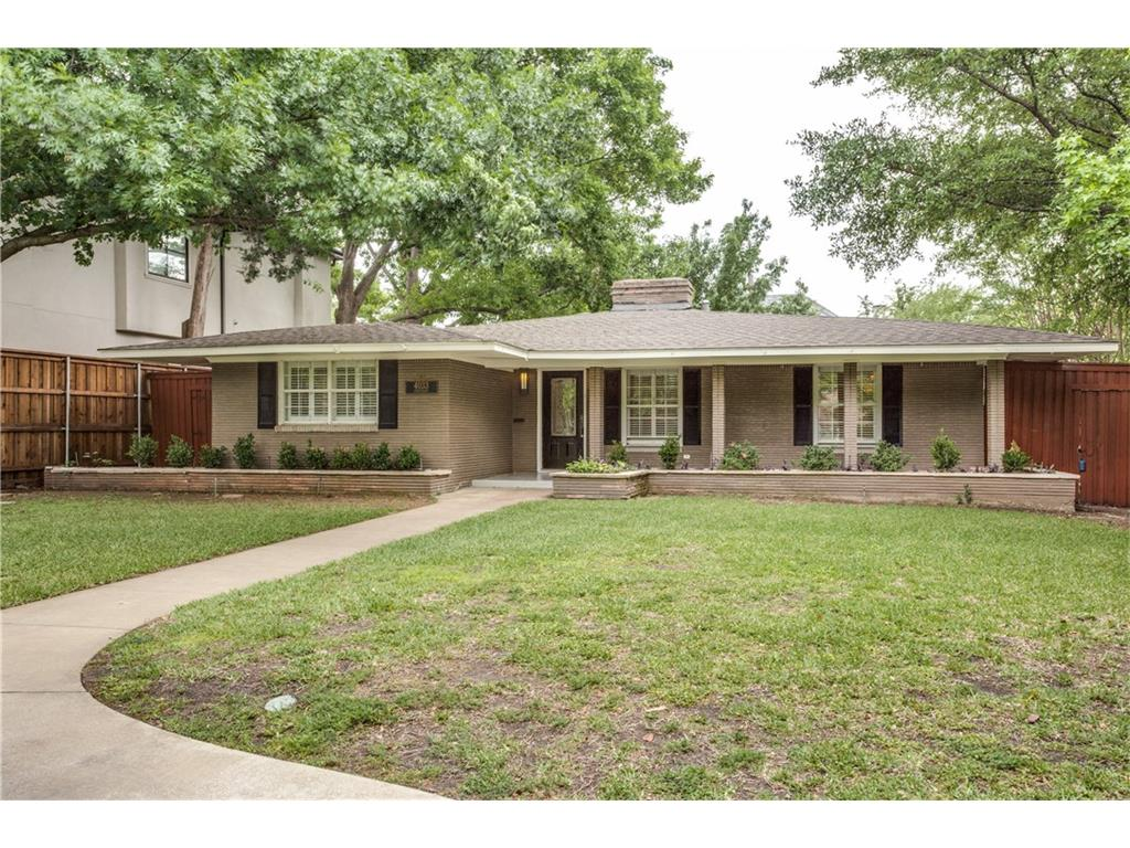 Leased | 4033 Centenary Avenue University Park, Texas 75225 1