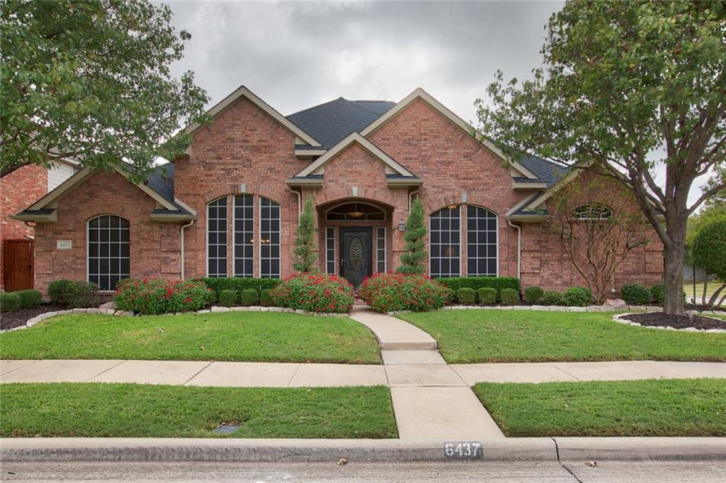 Sold Property | 6437 Autumn Trail The Colony, Texas 75056 0
