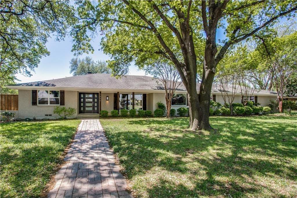 Sold Property | 3840 Goodfellow Drive Dallas, Texas 75229 0
