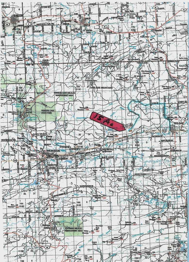 Active | AWESOME LITTLE 15 ACRES HUNTING PROPERTY Panola, OK 74578 2