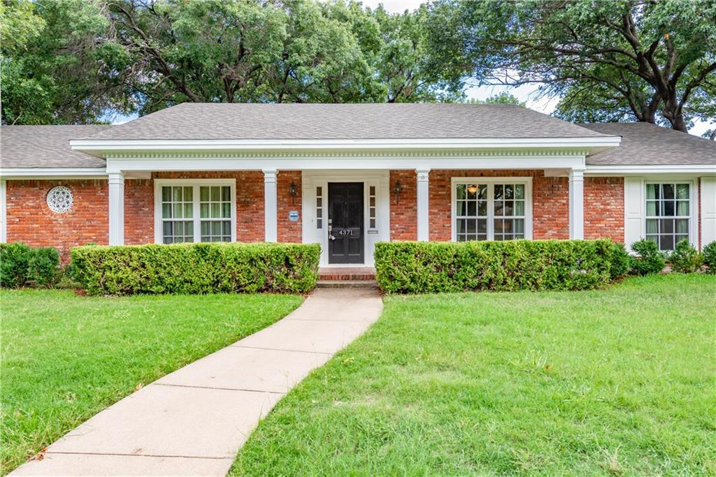Active Option Contract | 4371 Westdale Drive Fort Worth, Texas 76109 0