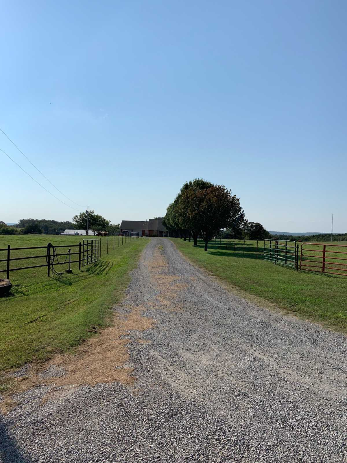Country home acreage, house horses, small ranch pond, stock,  | 1884 Double Springs Rd Stuart, OK 74570 1