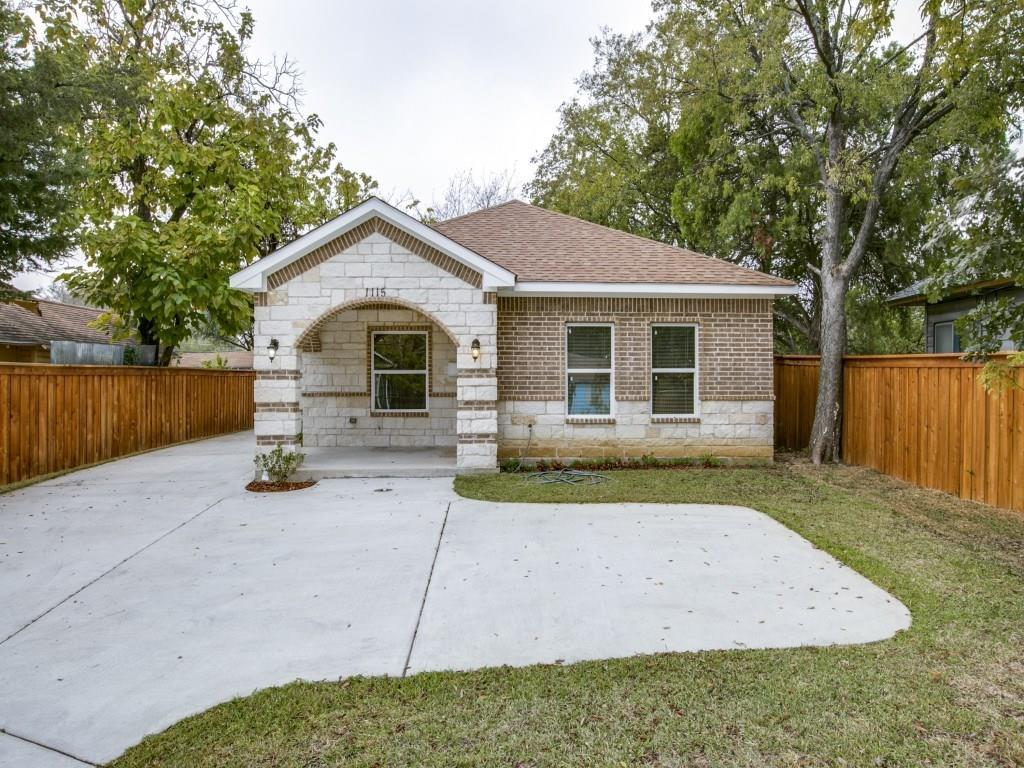 Sold Property | 1115 S Tyler Street Dallas, Texas 75208 0