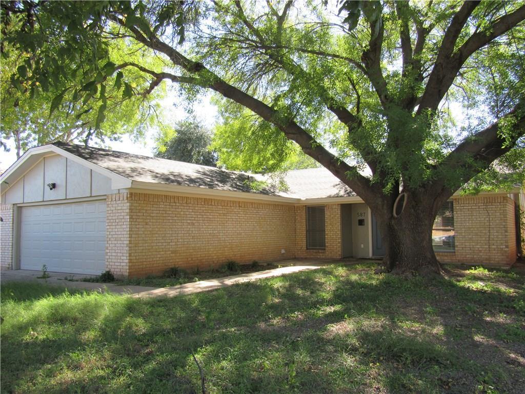 Sold Property | 587 Scotland Court Abilene, Texas 79601 0