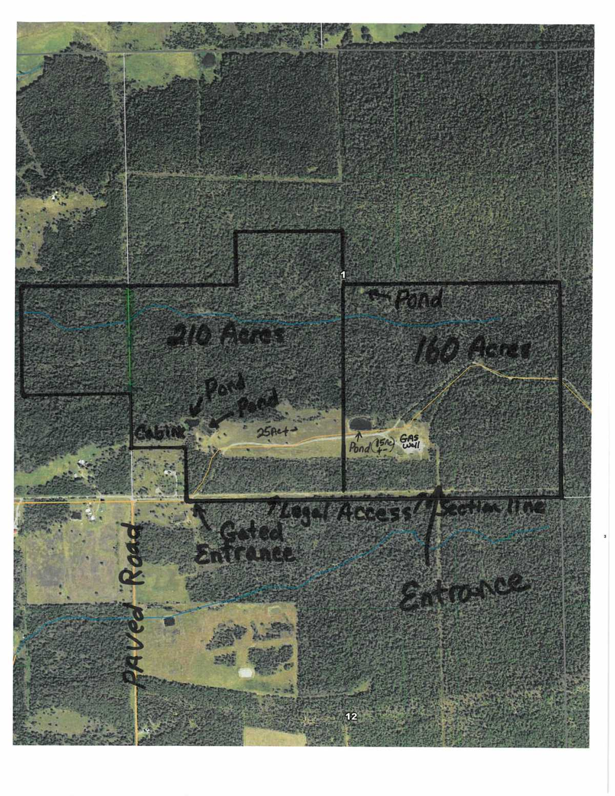 Oklahoma hunting land, OK hunting land pond, access hunting land OK | 160 Acres Holsten Lane Wilburton, OK 74578 0