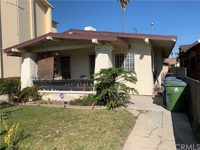 Active   1739 W 53rd  Street Los Angeles, CA 90062 0