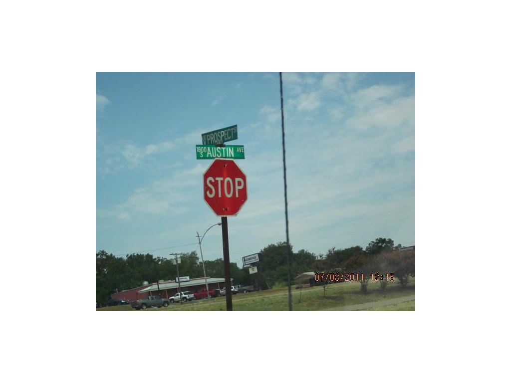 Sold Property   TBD Austin Avenue Denison, Texas 75020 2