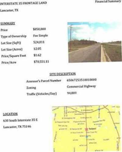 Sold Property | 630 S Interstate 35 Highway Lancaster, Texas 75146 5