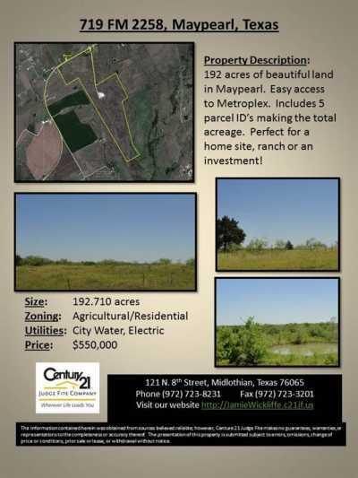 Sold Property   719 Fm 2258  Venus, Texas 76084 16