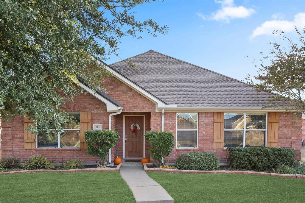 DFW Real Estate | 118 Cliffbrook Drive Wylie, Texas 75098 1