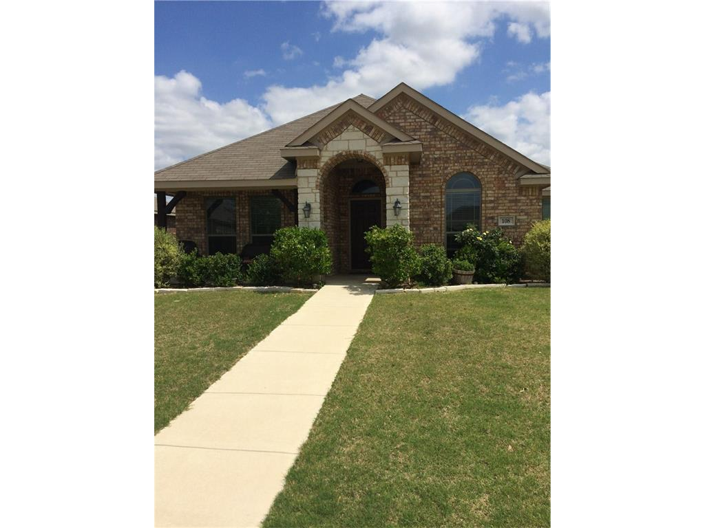 Sold Property | 108 Cambridge Street Waxahachie, Texas 75165 0