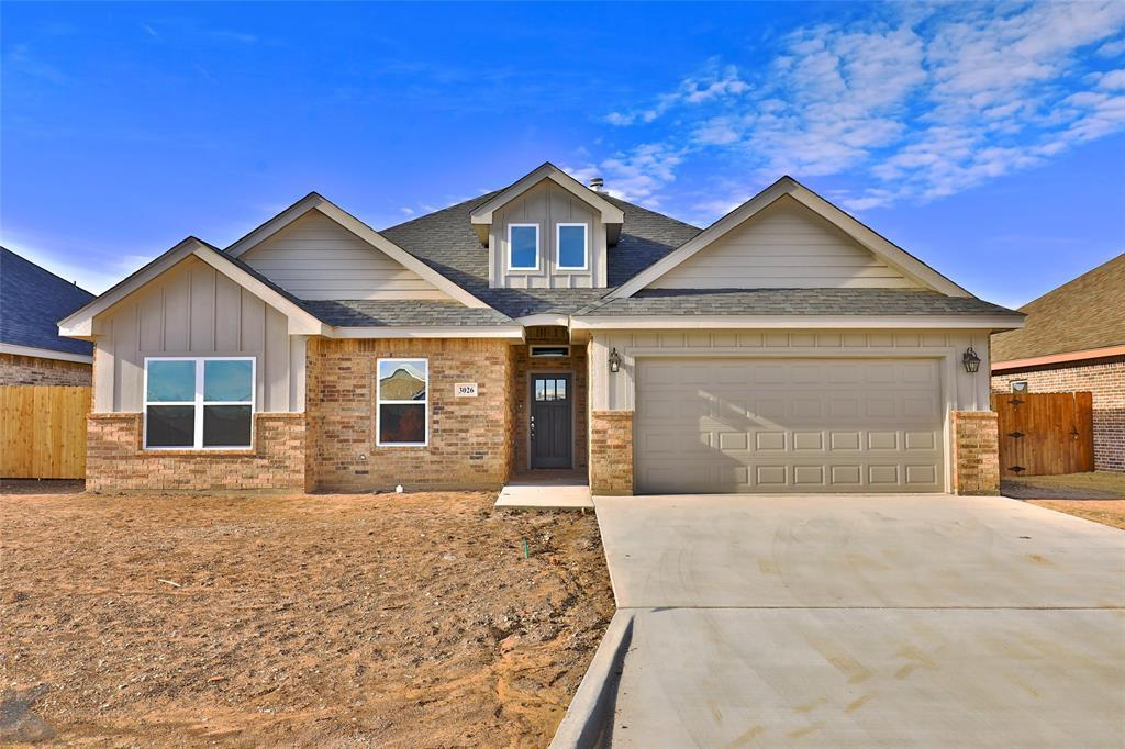 Sold Property | 3026 Legacy Lane Abilene, Texas 79601 0
