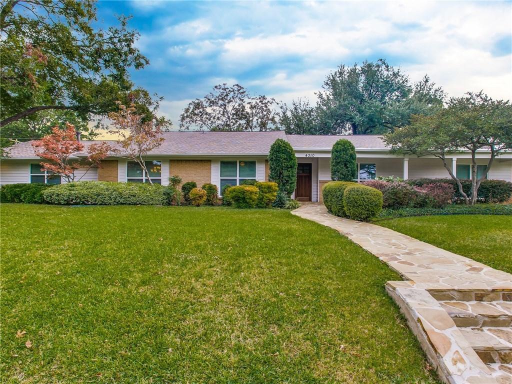 Sold Property | 4310 Reaumur Drive Dallas, Texas 75229 0