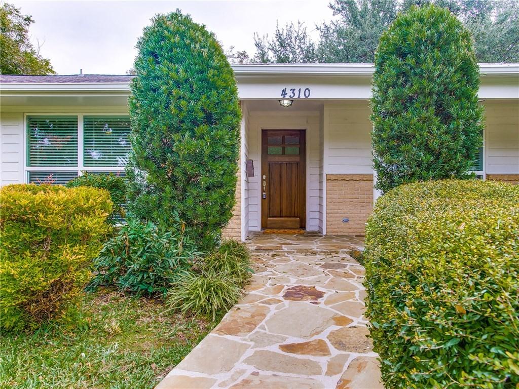 Sold Property | 4310 Reaumur Drive Dallas, Texas 75229 1