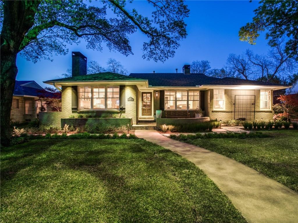 Sold Property | 6707 Southridge Drive Dallas, TX 75214 0