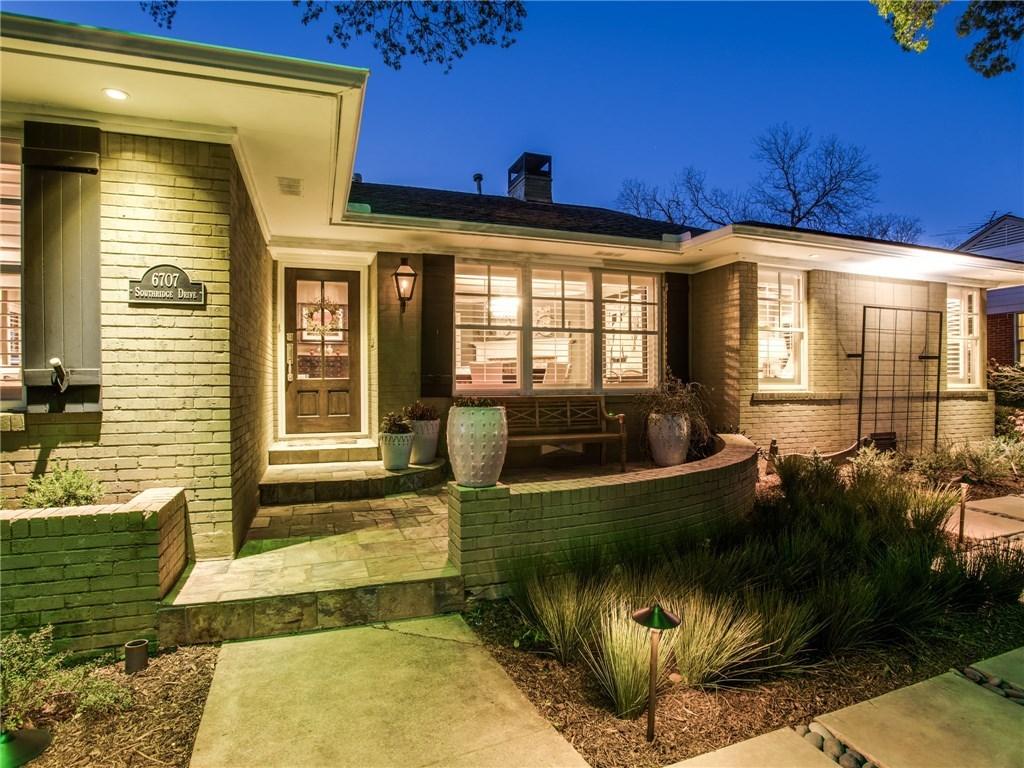 Sold Property | 6707 Southridge Drive Dallas, TX 75214 1