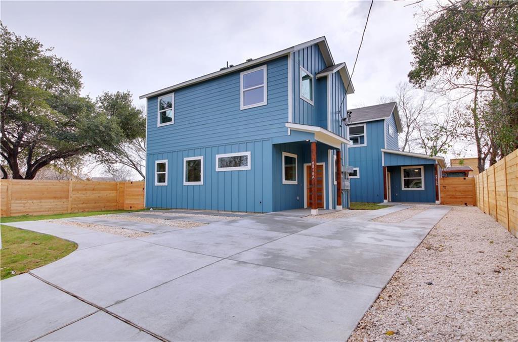 Sold Property   6815 Montana Street #A Austin, TX 78741 1