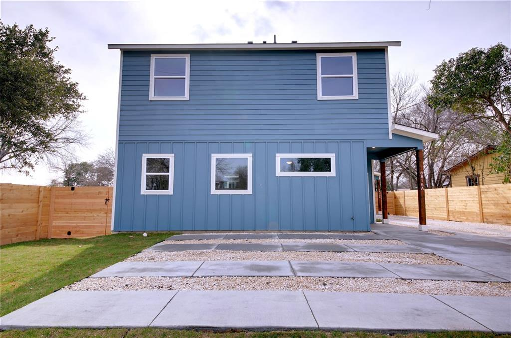 Sold Property   6815 Montana Street #A Austin, TX 78741 2