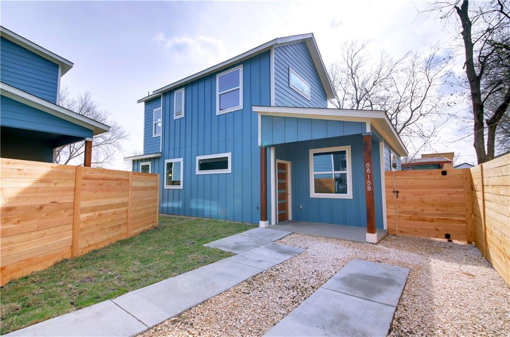 Sold Property | 6815 Montana Street #B Austin, TX 78741 1