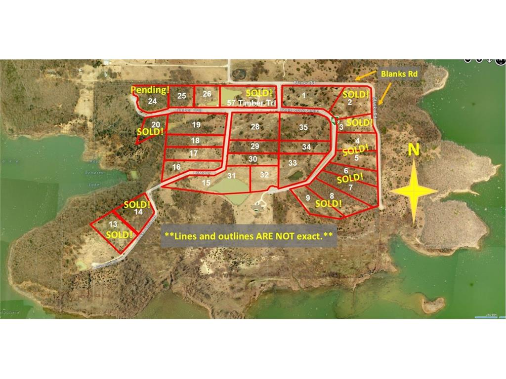 Sold Property | 24 Timber Trail Tioga, Texas 76271 0