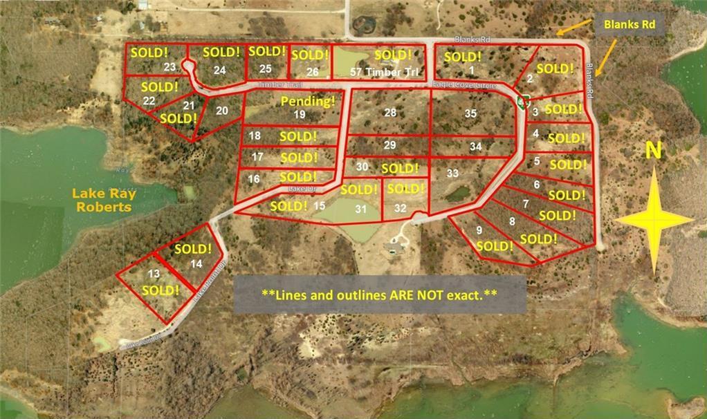 Sold Property | 19 Lake Drive Tioga, Texas 76271 0