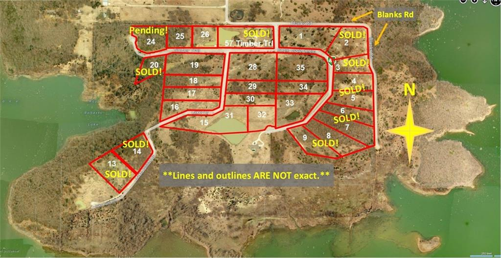 Sold Property | 25 Timber Trail Tioga, Texas 76271 0