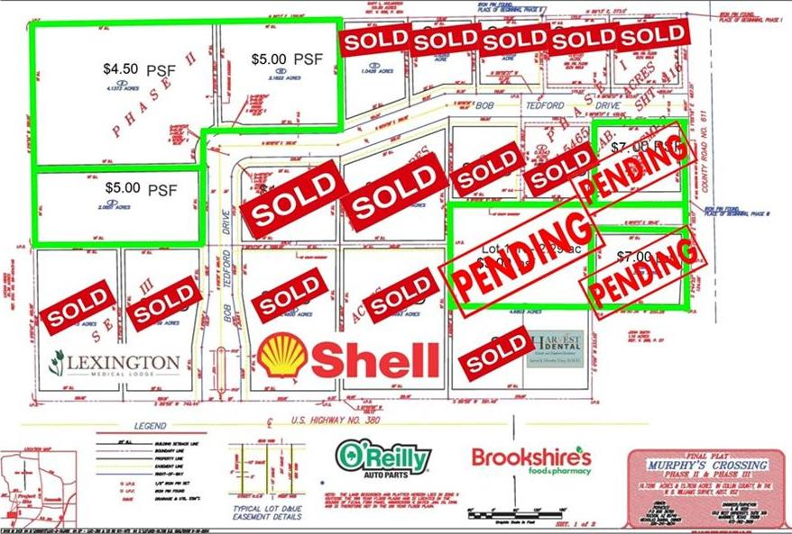 Active Option Contract   Lot 18 County Road 611  Farmersville, Texas 75442 0