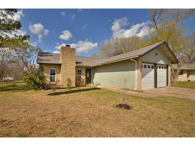 Sold Property   3420 Danville Drive Cedar Park, TX 78613 1