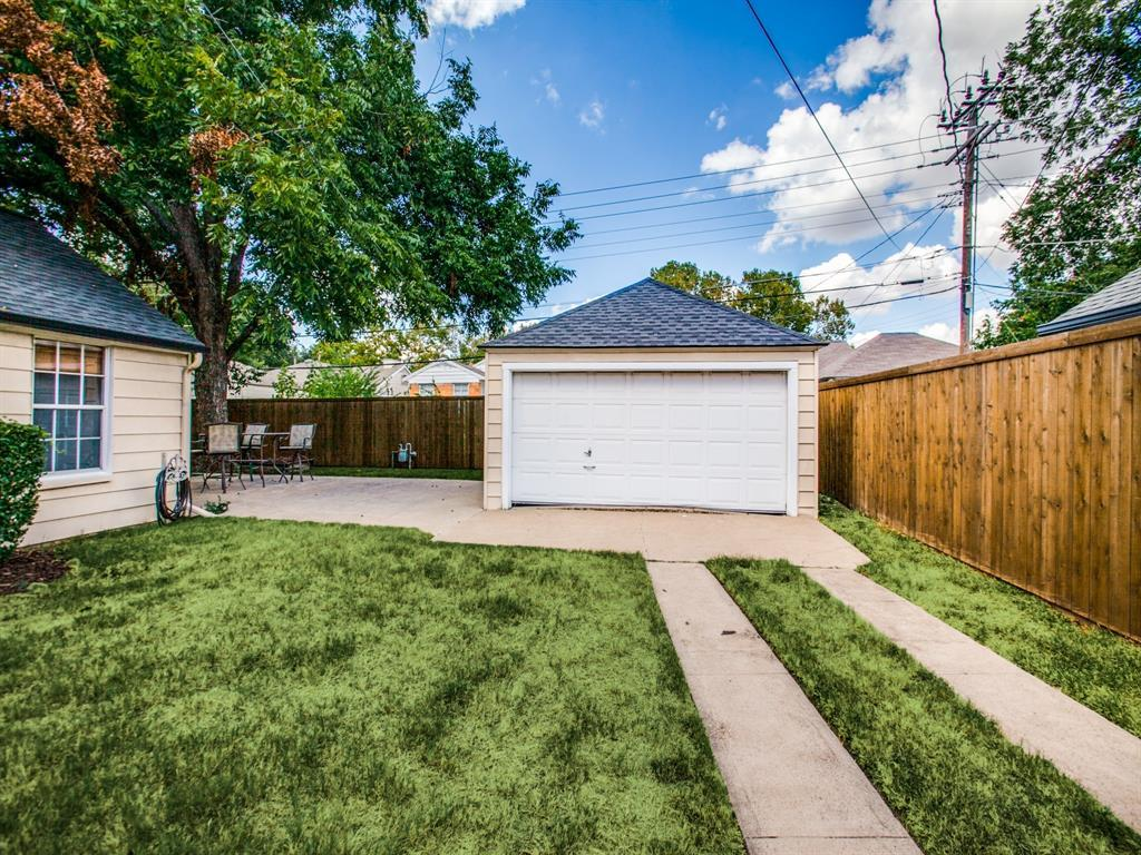 Active Option Contract | 5739 Ellsworth Avenue Dallas, TX 75206 20