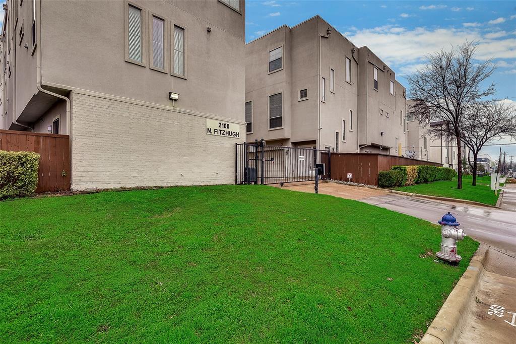 Sold Property | 2100 N Fitzhugh Avenue #H Dallas, TX 75204 0