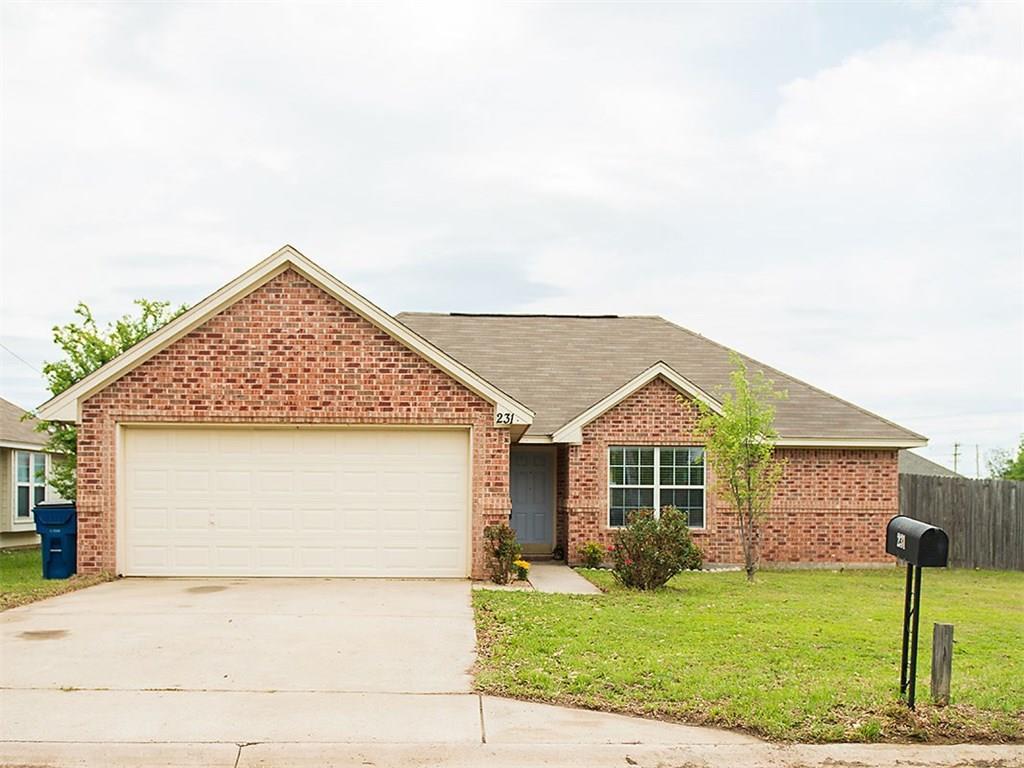 Sold Property | 231 Glory Street Aubrey, Texas 76227 0
