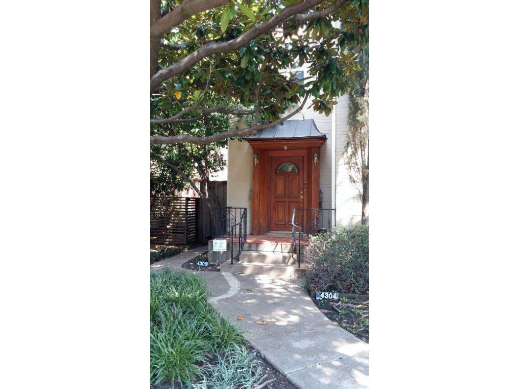 Leased | 4306 University  University Park, TX 75205 0