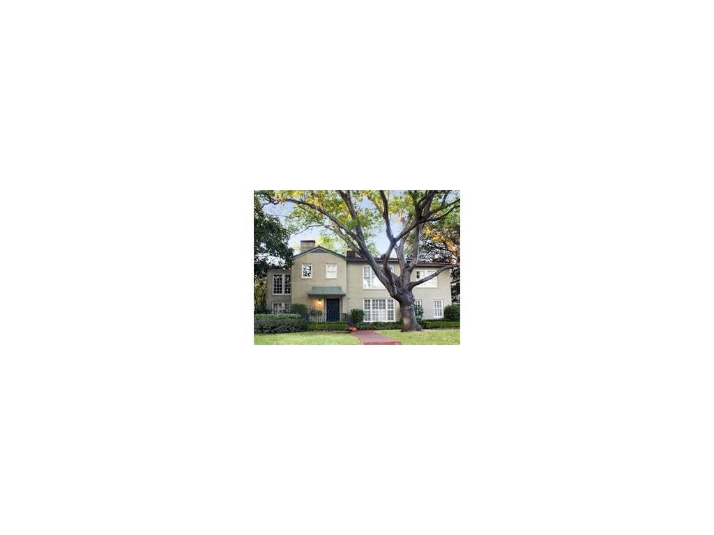 Leased | 4542 Westway Avenue Highland Park, TX 75205 0