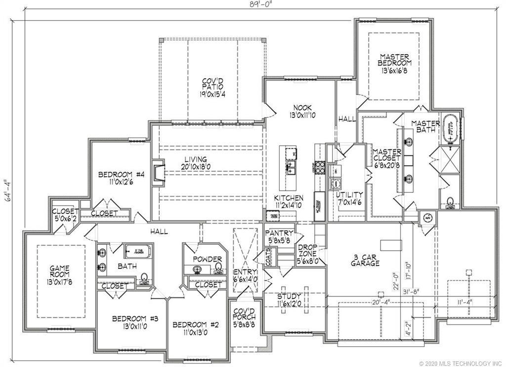 Active | 6021 E 126th Place Bixby, OK 74008 1