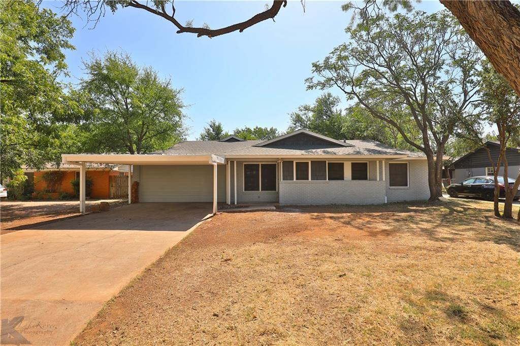 Sold Property | 1323 N Willis Street Abilene, TX 79603 1