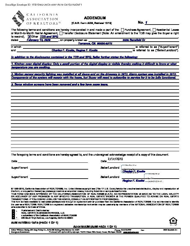 Active Under Contract   3506 Senefeld Drive Torrance, CA 90505 1