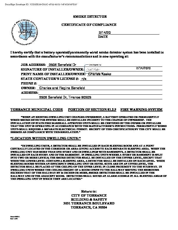 Active Under Contract   3506 Senefeld Drive Torrance, CA 90505 7