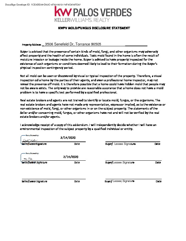 Active Under Contract   3506 Senefeld Drive Torrance, CA 90505 15