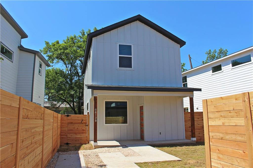 Withdrawn   6813 Porter Street #B Austin, TX 78741 2
